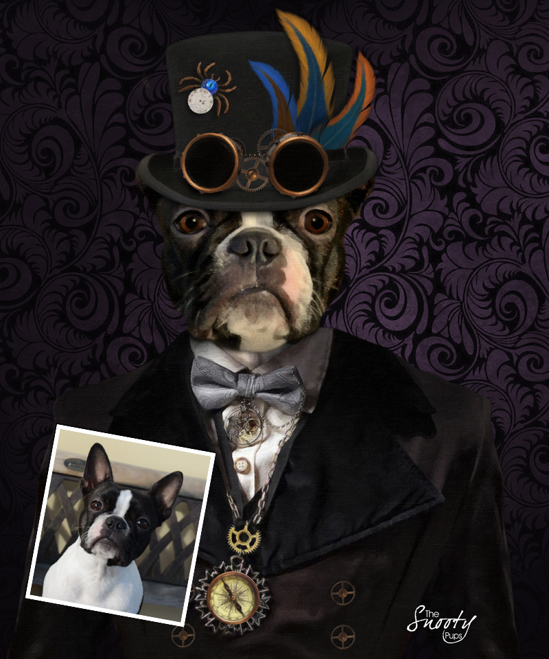 Steampunk Dog Portraits