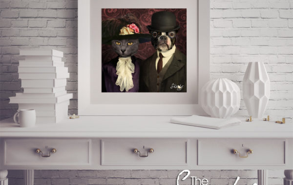 Pet Portrait – Vintage Couple